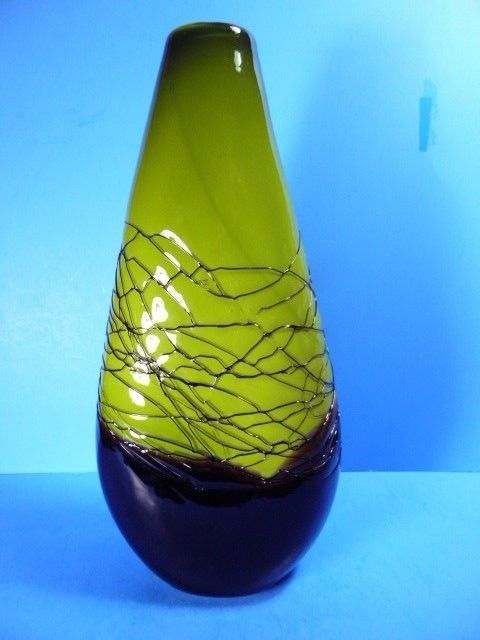 Unique Mid Century Modern Glass Vases