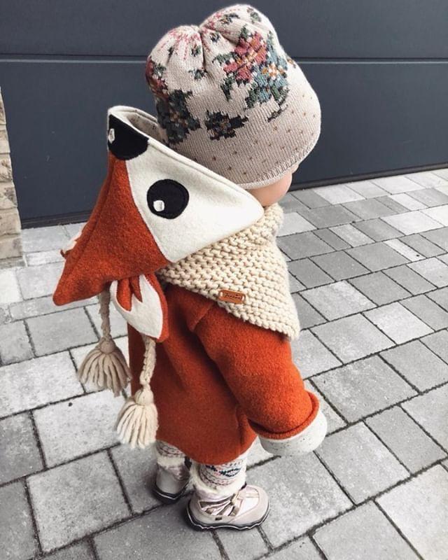 Photo of Bambijacke für kleine Zwerge mit dem gewissen Etwas aus 100% Wollwalk für die …