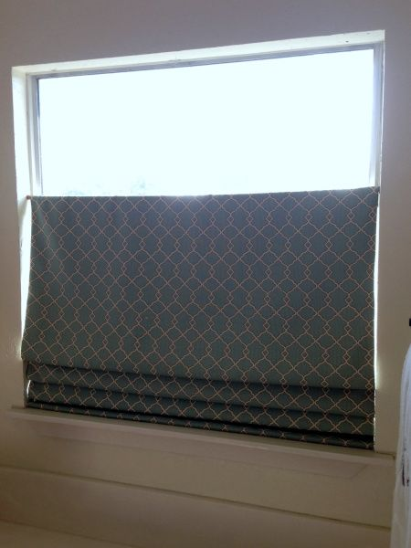 No Sew Faux Diy Top Down Bottom Up Shade Window Coverings Diy