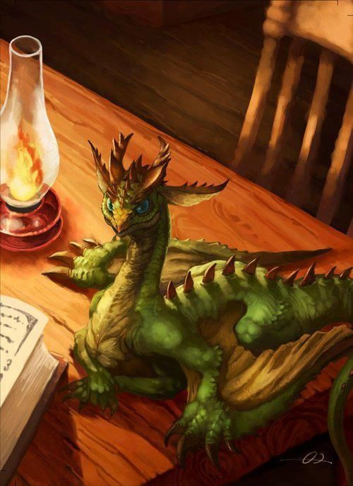 this is the size of a minor dragon, inhabitants of the Dragon Keeper Chronicles and The Chronicles of Chiril.