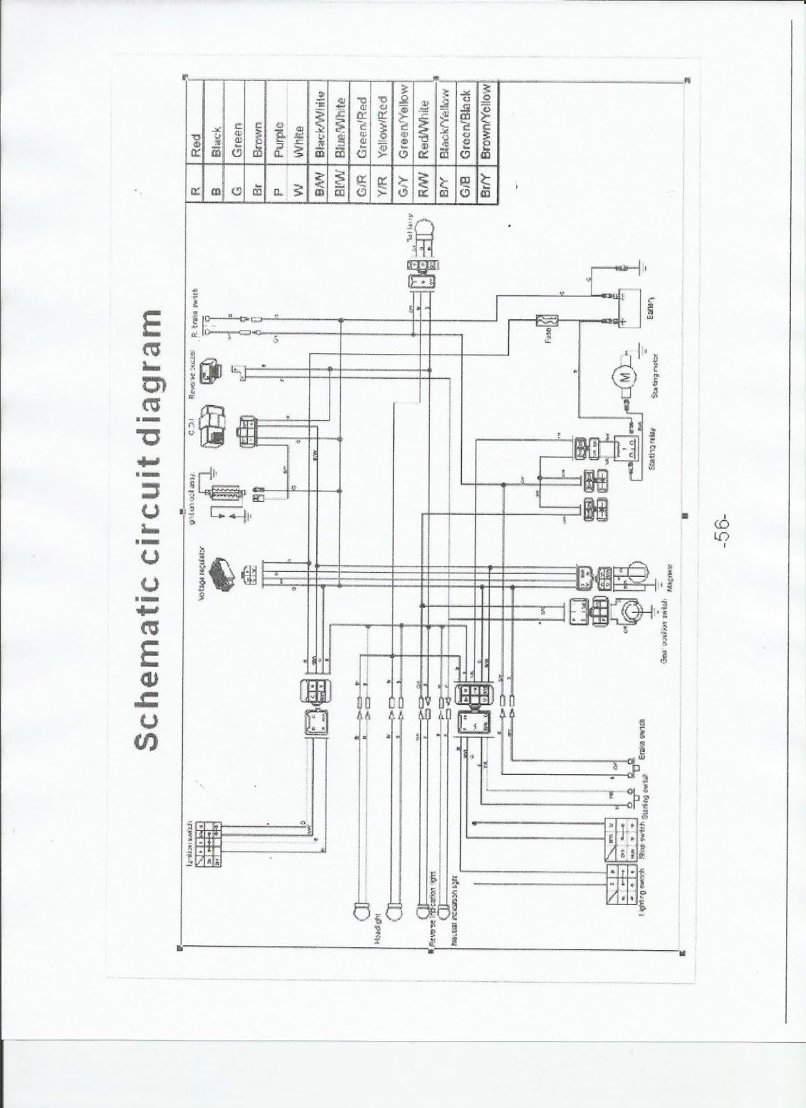 Gy4 4cc Engine Diagram In