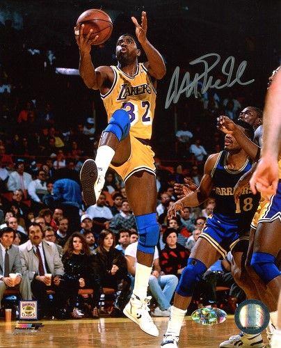 d99bf204b Magic Johnson Signed Autographed Los Angeles Lakers 8x10 Photo Tristar COA