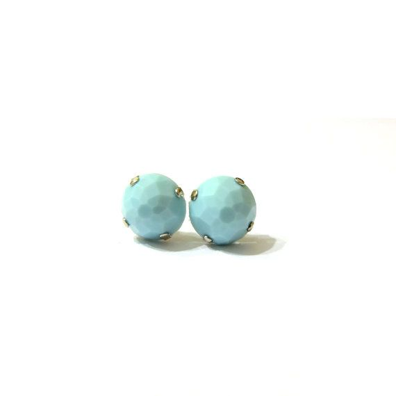 wholesale druzy wr gold blue bead stone stud peach light with tone earrings faux white and wrapped a p striped thread