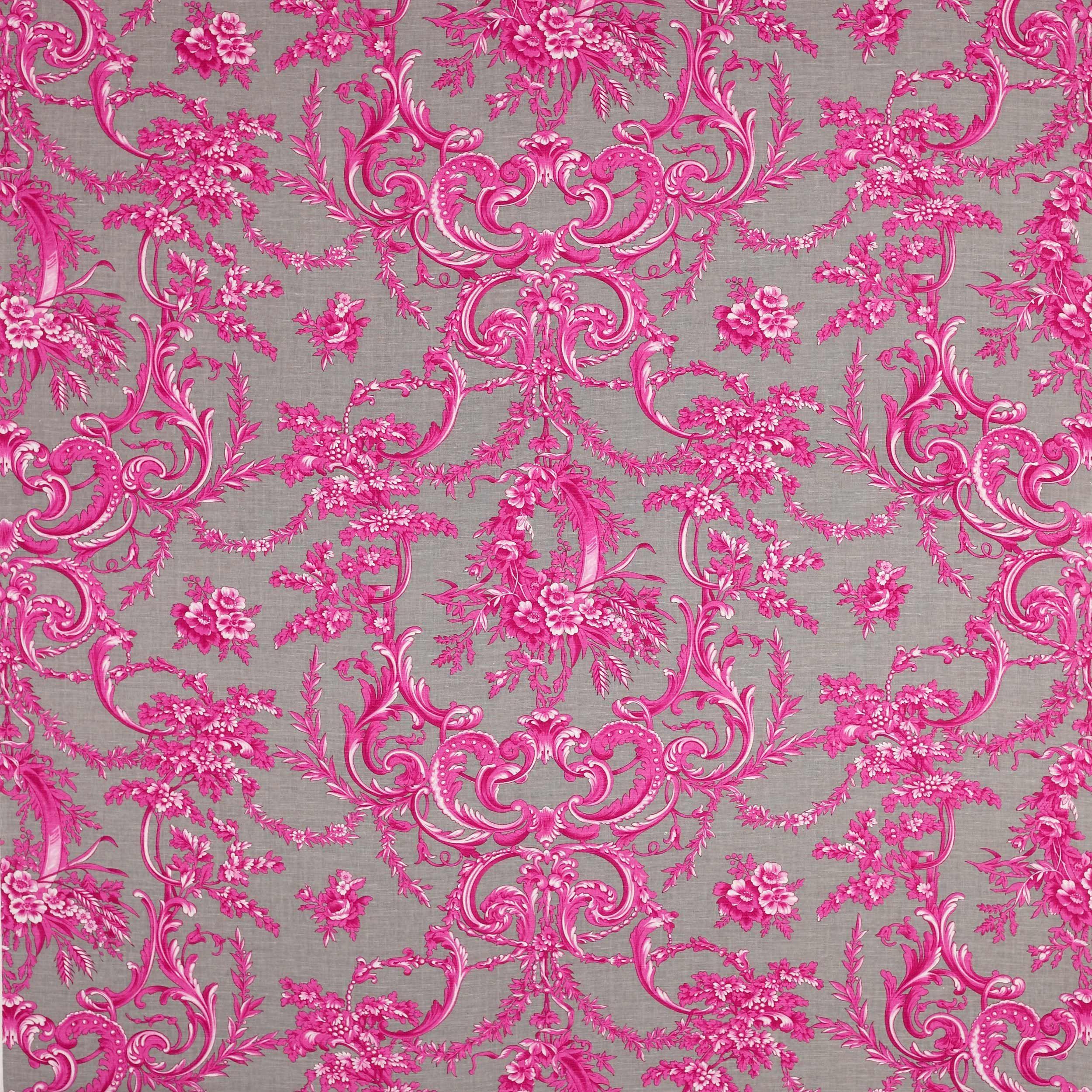 Manuel canovasu la verrerie fuchsia toile textiles with for Moquette de stand