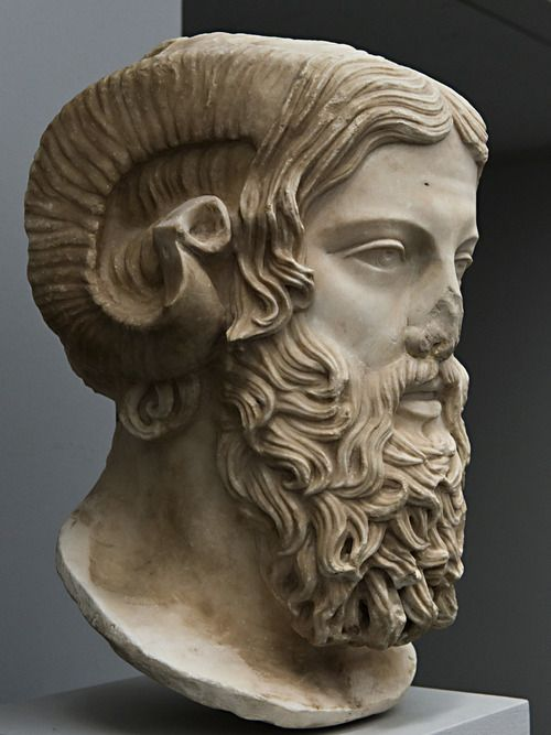 Zeus Ammon Marble Greek Original 5th Century B C Celebrity Heads Ancient Greek Sculpture Greek Art Und Art