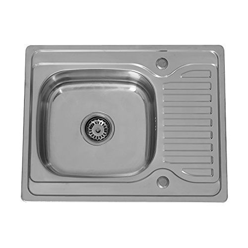 enki lavello a incasso reversibile 1 vasca quadrata con g https