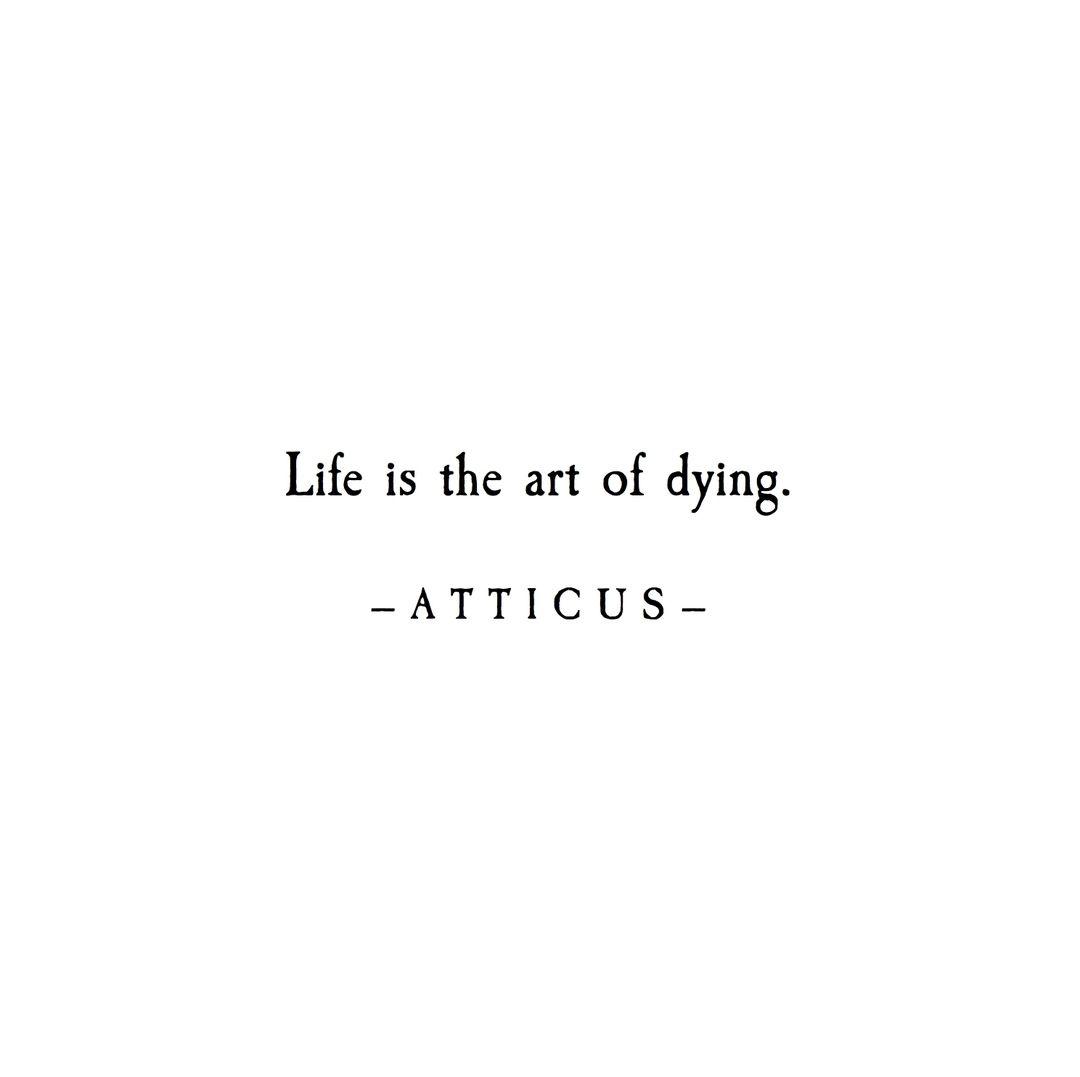 3 628 Gilla Markeringar 19 Kommentarer Atticus Atticuspoetry