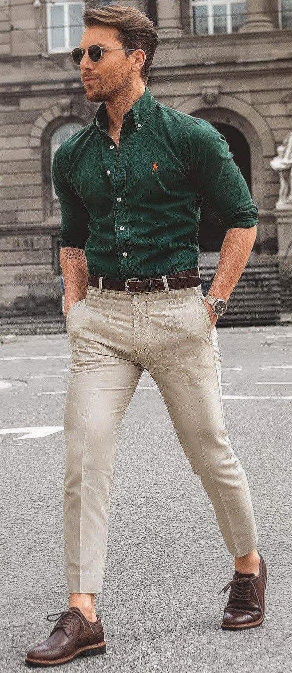 The dress shirt fit   Formal mens fashion, Men fashion casual ...