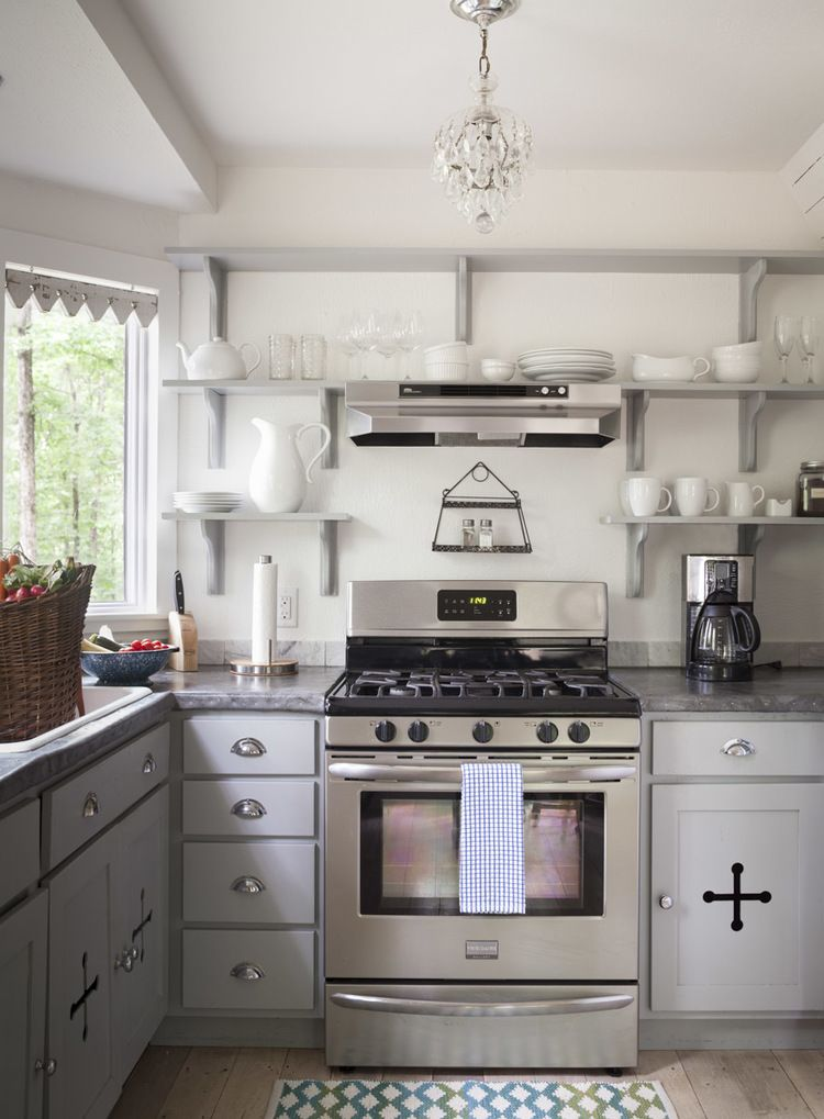 kitchen design with range cooker. The Full Service Kitchen At The Storybook Cottage  City Farmhouse