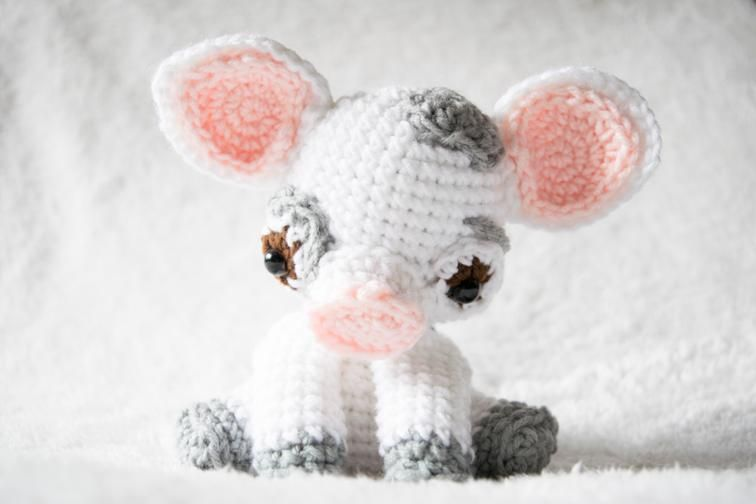 Amigurumi Pig (inspired by Moana\'s Pua) | Tejido