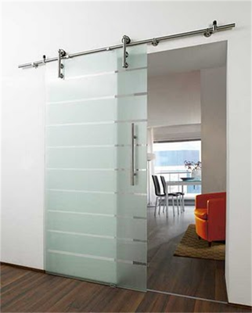 Small Sliding Door sliding door solution for small spaces (a beautiful mess