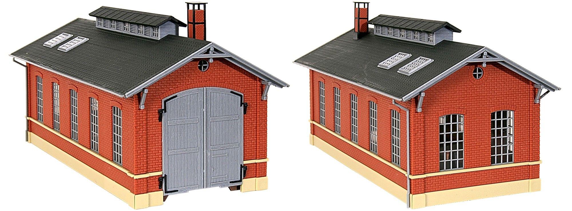 172 x 148 x 108 mm NEU in OVP Faller 130162 Feuerwehrgerätehaus