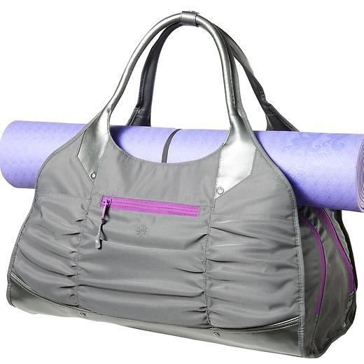 On My Christmas List Spring Tote Athleta Stylish Gym Bags Workout Bags Yoga Mat Bag