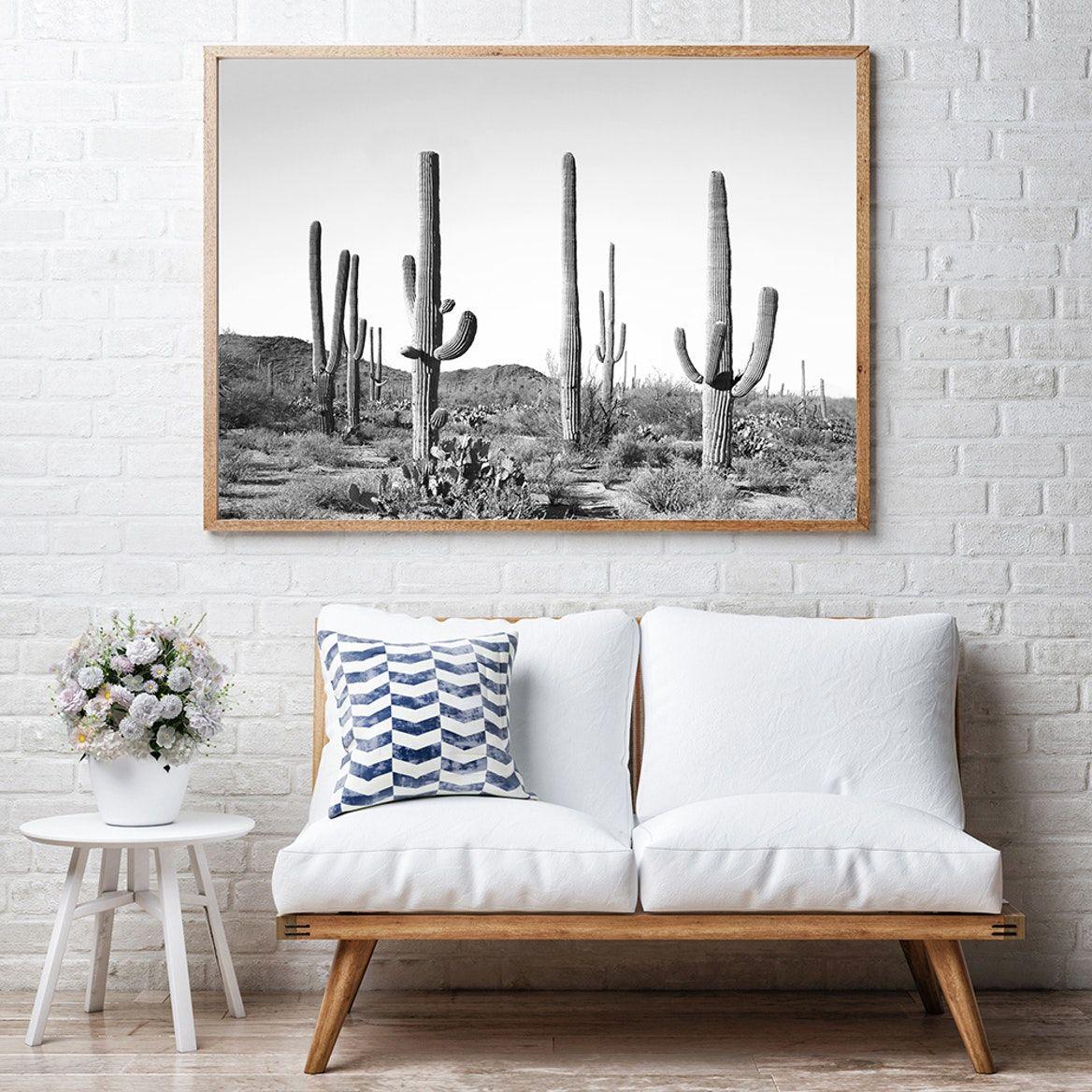 Photo of Cactus Land Art Print