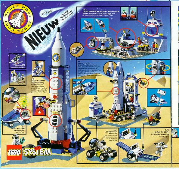 Lego City Space 1999 Set Lego City Space Lego Magazine Lego