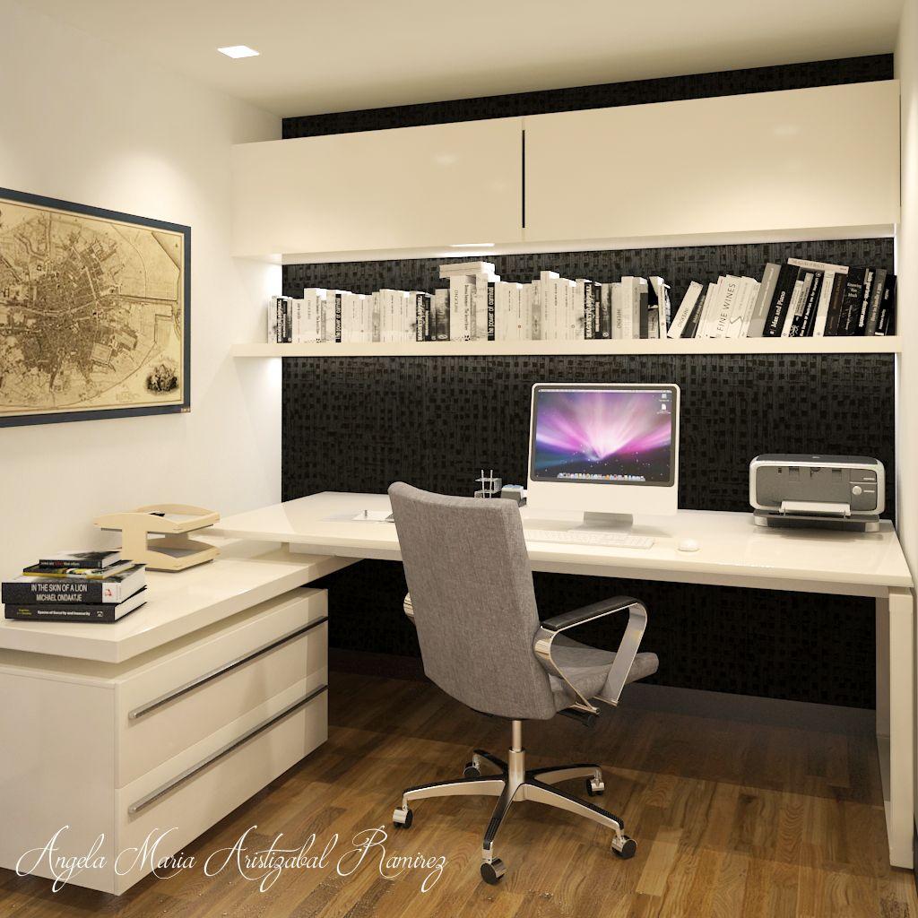 Dise o interior estudio moderno contemporaneo dise o en 2019 - Estudio de interiores ...