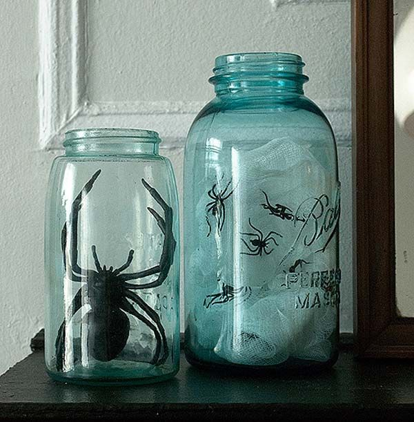 Top 30 DIY Spooky Mason Jars for This Halloween Spooky Pinterest