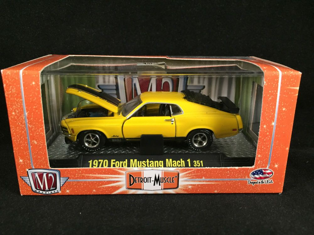 M2 Machines Detroit Muscle Release 15 1970 FORD MUSTANG