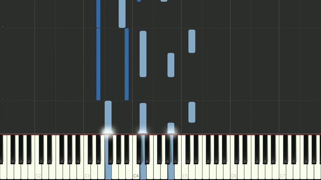 Leyenda or Asturias by Isaac Albeniz for piano - synthesia | mfiles