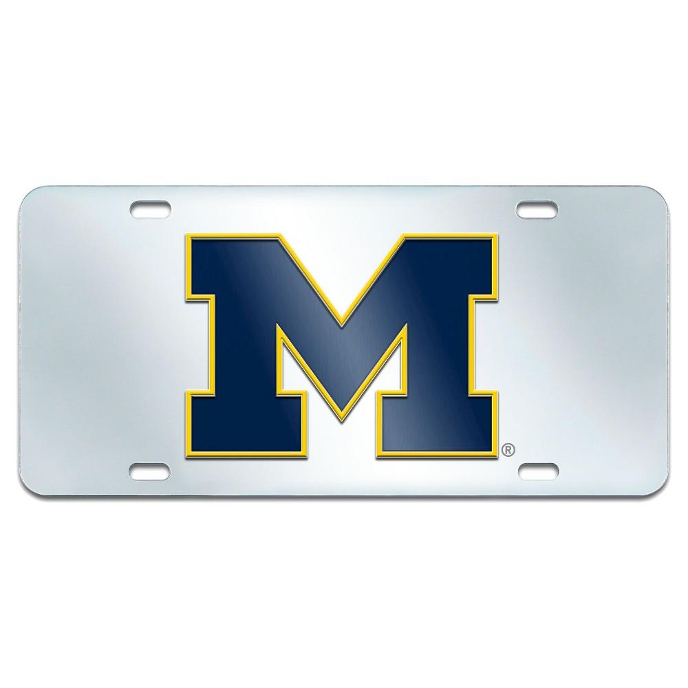 University of Michigan Acrylic Inlaid License Plate Frame, Multi ...