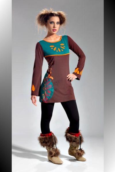 robe ethnique 559 tunique ethnique chic vetement femme ethnik vetement ethnique femme. Black Bedroom Furniture Sets. Home Design Ideas