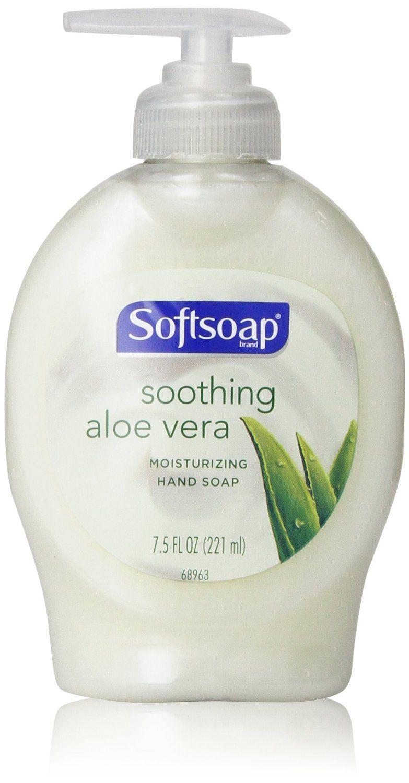 Softsoap Hand Soap Soothing Aloe Vera 7 5 Fl Oz Liquid Hand