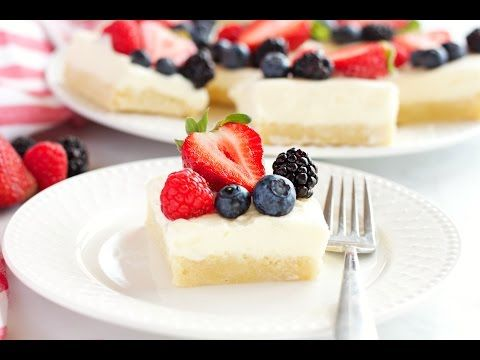 These Berry Cheesecake Sugar Cookie Bars make the perfect dessert for spring and summer featuring a cookie base, creamy cheesecake and fresh berries!