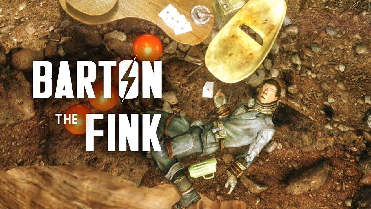 Barton The Fink And The Johnny Five Aces Wild Wasteland Event Fallou Fallout New Vegas Johnny Five Fallout