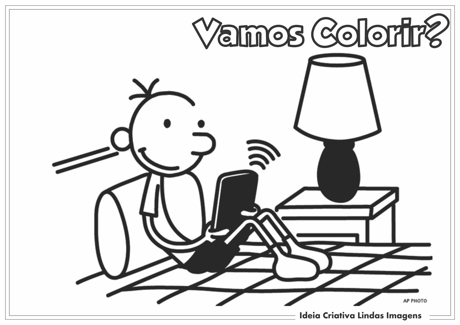 diario de um banana colorir - Pesquisa Google