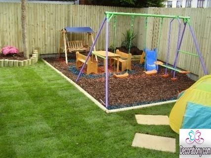 15 Fun Small Garden Ideas For Kids Play Area Backyard Child
