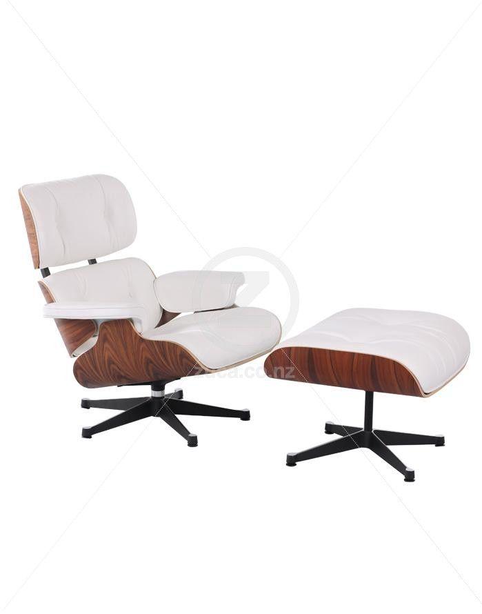 Brilliant Replica Eames Lounge Chair Ottoman Premium White Ibusinesslaw Wood Chair Design Ideas Ibusinesslaworg