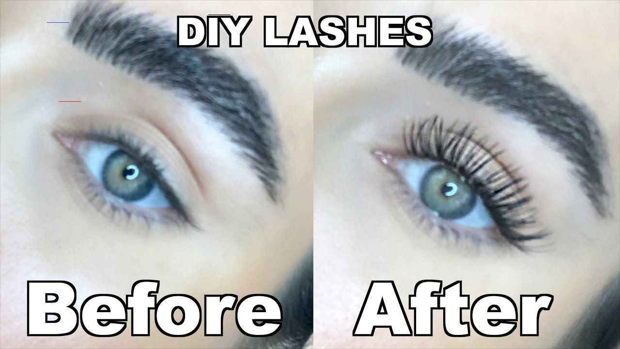 Diy lash extensions at home lash extensions