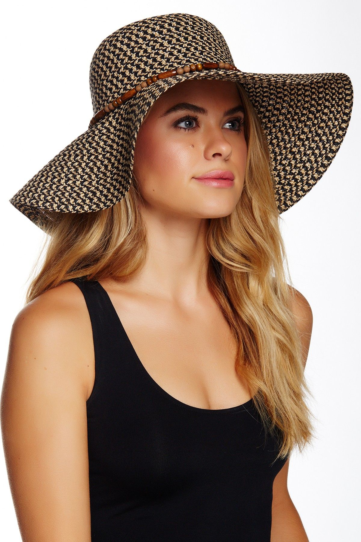 14th & Union | Multi Braid Floppy Hat | Nordstrom Rack