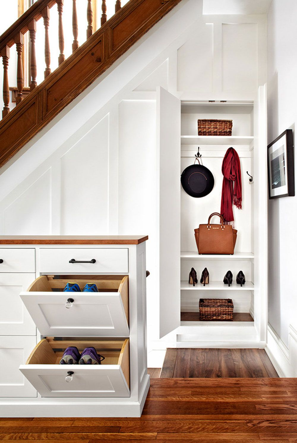 Under Stairs Storage How to Maximize the Space from Your