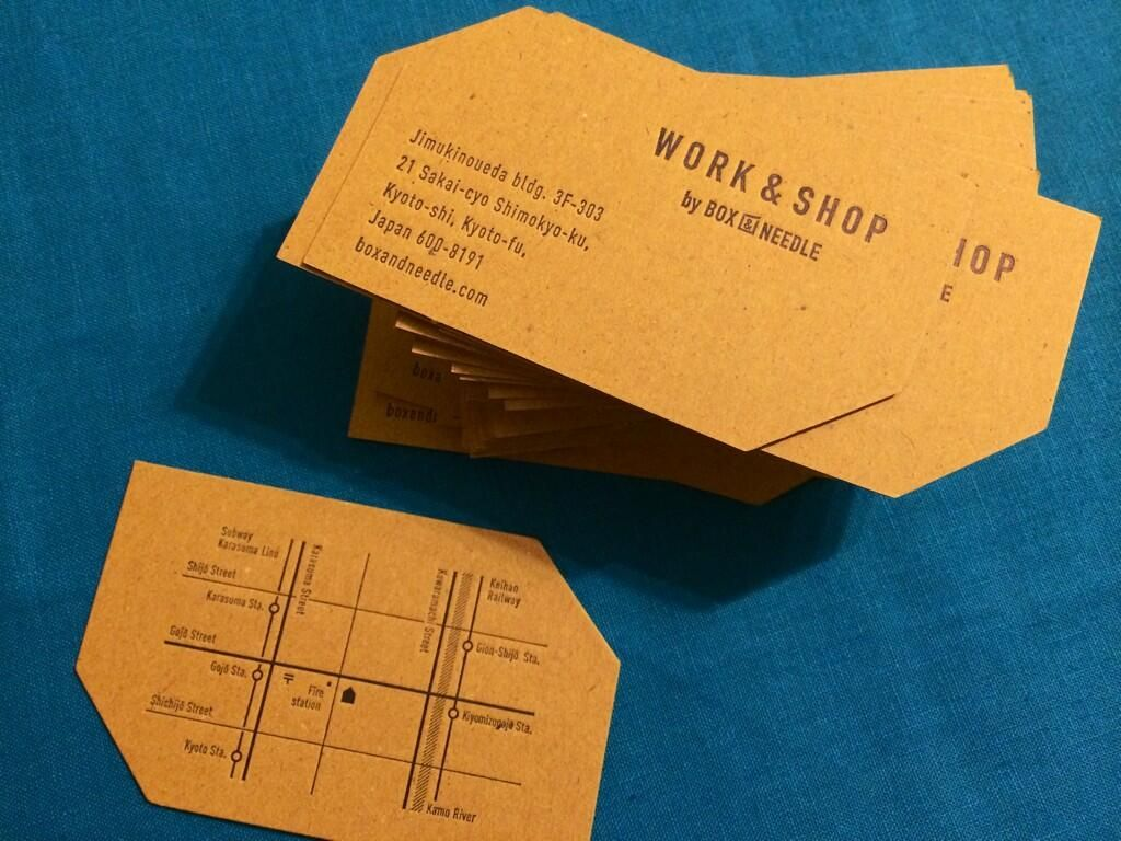 A E Ae A Box Needle On Business Cards