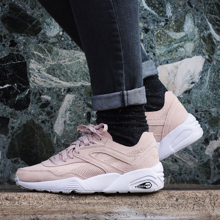 puma trinomic soft pack rose