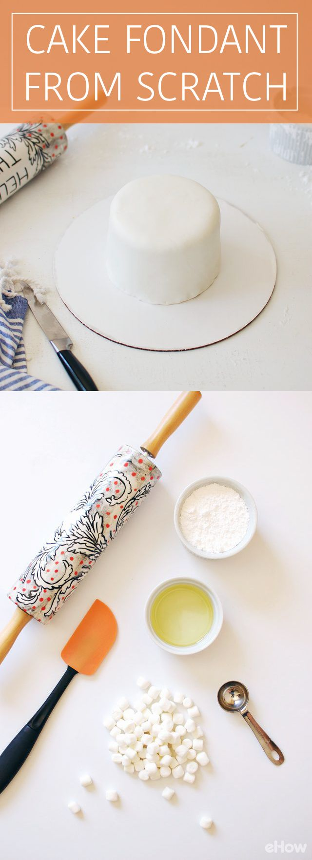 How to make cake fondant from scratch marshmallow for How to make a homemade cake from scratch
