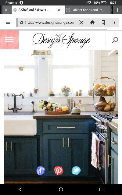 Color Sherwin Williams Tempe Star Kohler Farmhouse Sink Farmhouse Style Kitchen Cabinets Kitchen Cabinet Styles Cottage Kitchen Cabinets