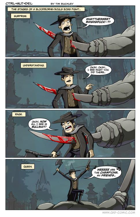 Every Dark Souls Boss In A Nutshell  Funny Video Memes -1179