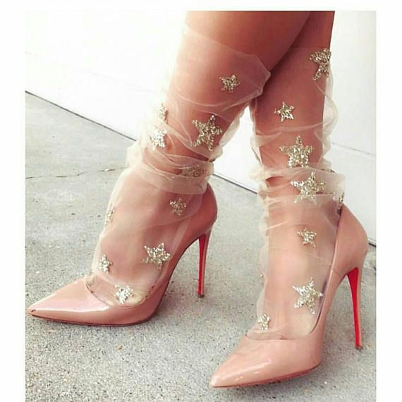 d254408e5 Pink Star Socks