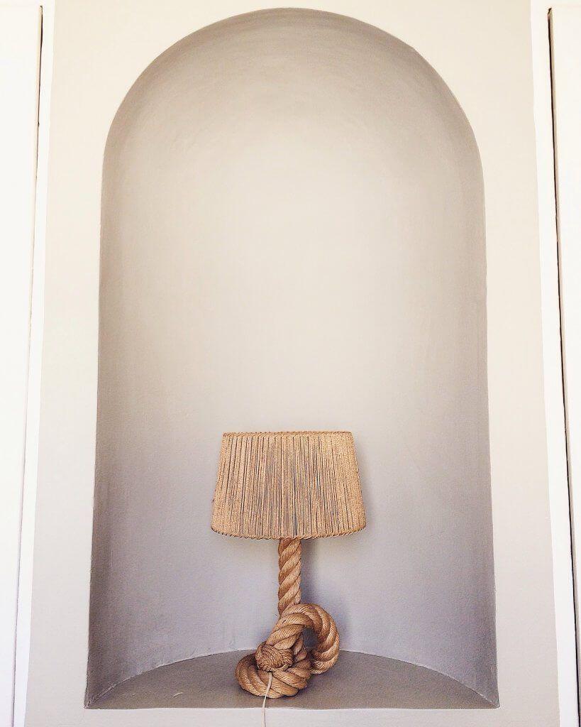 Atelier Vime Lampe en corde Audoux Minet