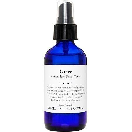 Grace Antioxidant Organic Facial Toner - Speeds Cellular Renewal For Smooth Clear Skin 2 oz