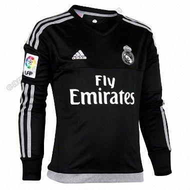 4b70f084ec450 Camiseta Real Madrid Portero 1ª 2015 2016 Manga Larga http   www.