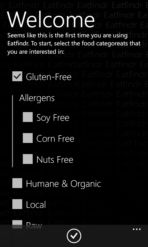 App for food allergy restaurant finder food allergy infoitems app for food allergy restaurant finder forumfinder Images