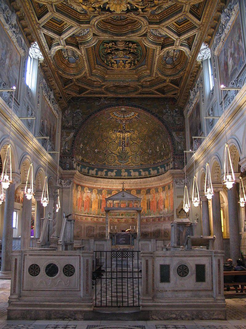 Basílica de San Clemente  Roma, Italia  Construcción: 1713-1719 Arquitecto: Carlo Fontana Estilo arquitectónico: Paleocristiano