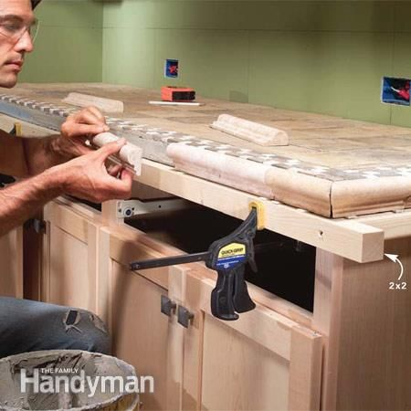 Installing Tile Countertops   counter top   Pinterest ...