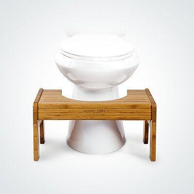 Squatty Potty® Tao Bamboo Adjustable Toilet Stool