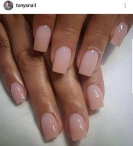 It S Time To Give Your Manicurist A Call Because The Spring Summer 2019 Nail Trends Are Here And They Absolutely Beg To Pink Nails Short Acrylic Nails Nails