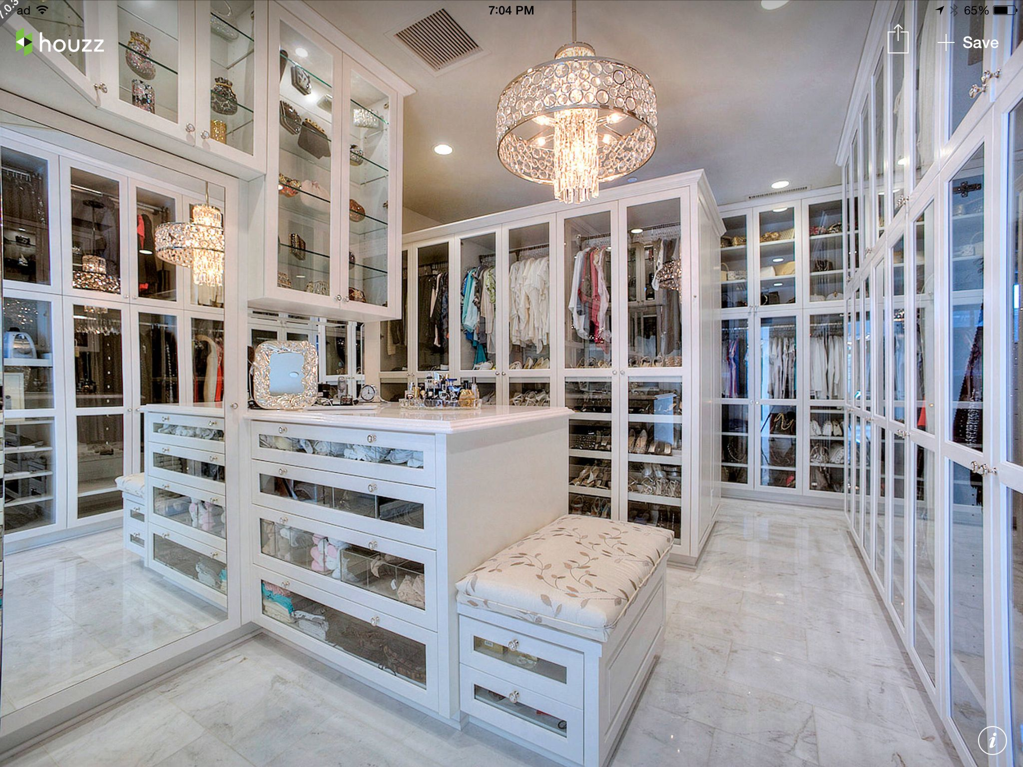 Beautiful Closet Pinterest