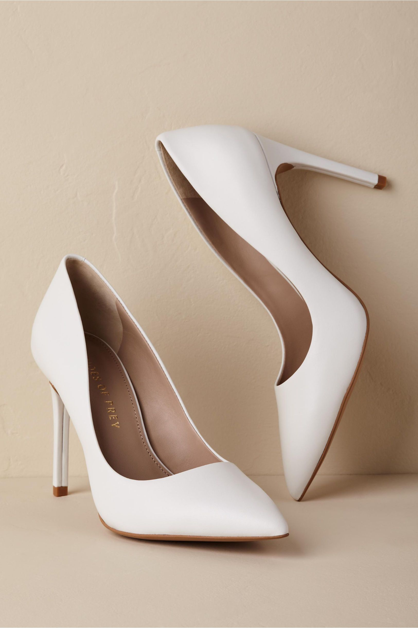 66c75e09de42 BHLDN s Shoes of Prey Como Heels in Ivory